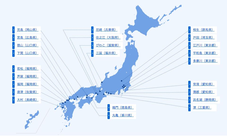 競艇場マップ